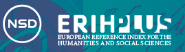 ERIH PLUS - The European Reference Index for the Humanities and the Social Sciences (EU, Norway)